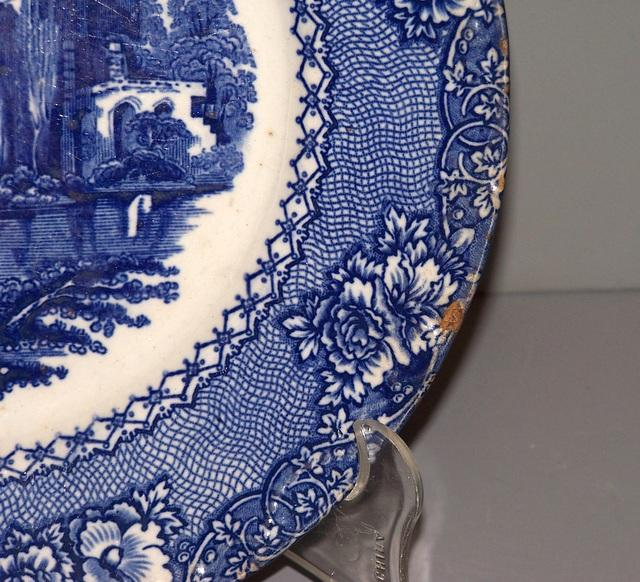 Castle Plate- Blue