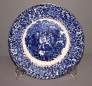 Castle Plate-Blue