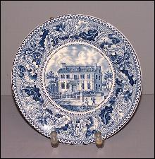Clarke House Plate