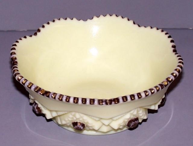 Custard Glass Desert Dish