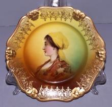 Vintage Portrait Plate Rosenthal China