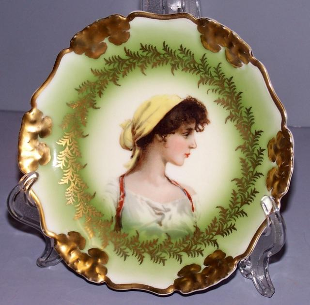 Vintage Rosenthal China Portrait Plate