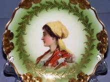 Rosenthal China Portrait Plate