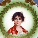 Vintage Rosenthal China Portrait Plate