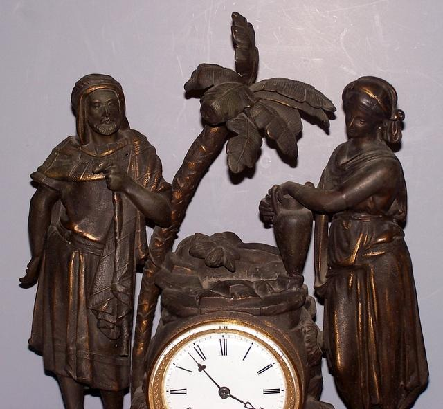 Mitchell Vance and Co. Clock of Rebecca at the Well