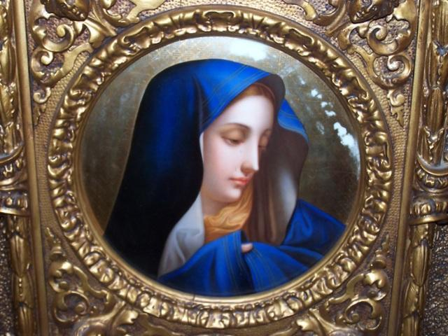 Holy Virgin Mary Icon Crying