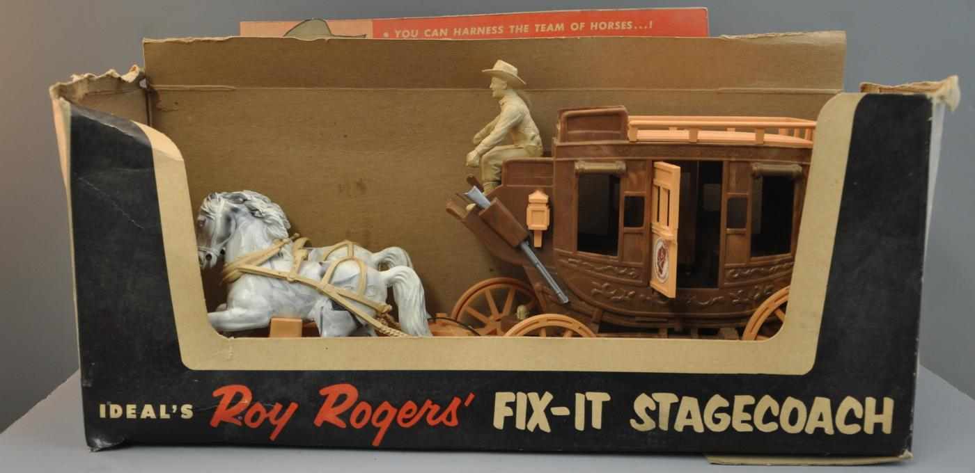Roy Rogers Fix it Stage Coach