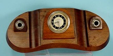 New Haven Walnut Desk Clock Clockmast
