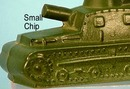 Rare Vintage Army Tank Candy Container