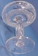 Cut Glass Compote by Hawks