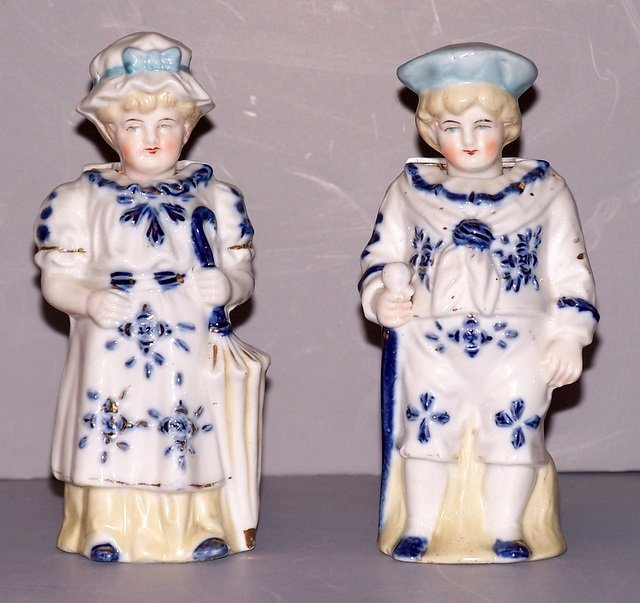 Man and Woman Bobble Heads