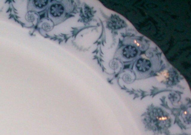 Grandma's Old Platter (Flo Blue?)
