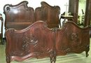 Antique Louis XV Rosewood King size bed