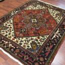 Vintage Persian Heriz Rug-4225