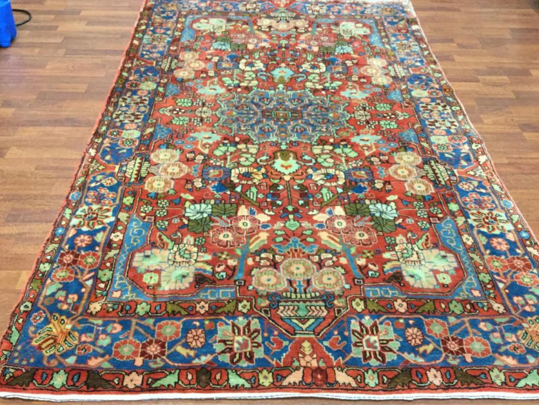 Vintage Persian Nahavand Rug-544