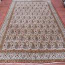 Vintage Persian Qum Rug-3908