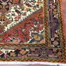 Semi antique Persian Heriz rug-4226
