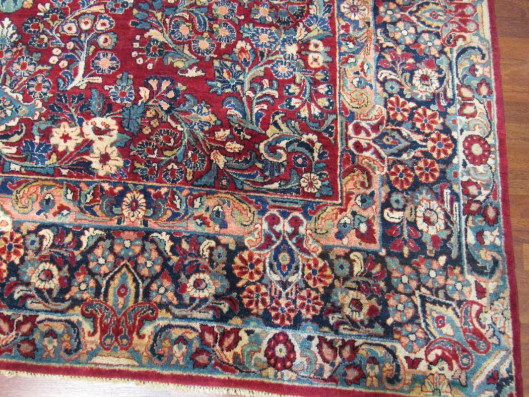 Antique Persian Sarouk Rug-4422