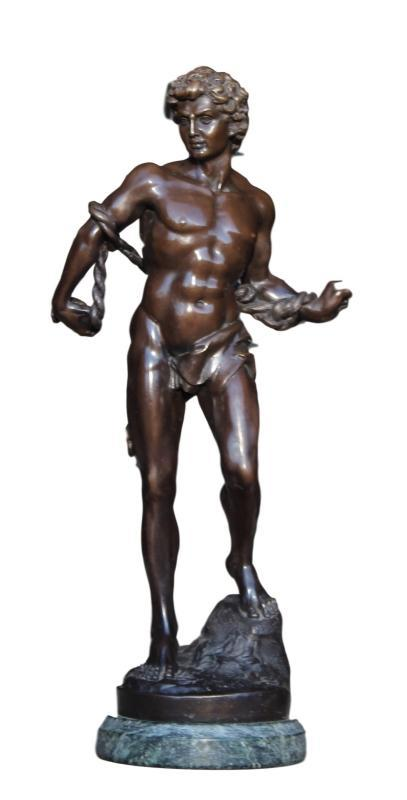 Bronze Sculpture of Greek Man
