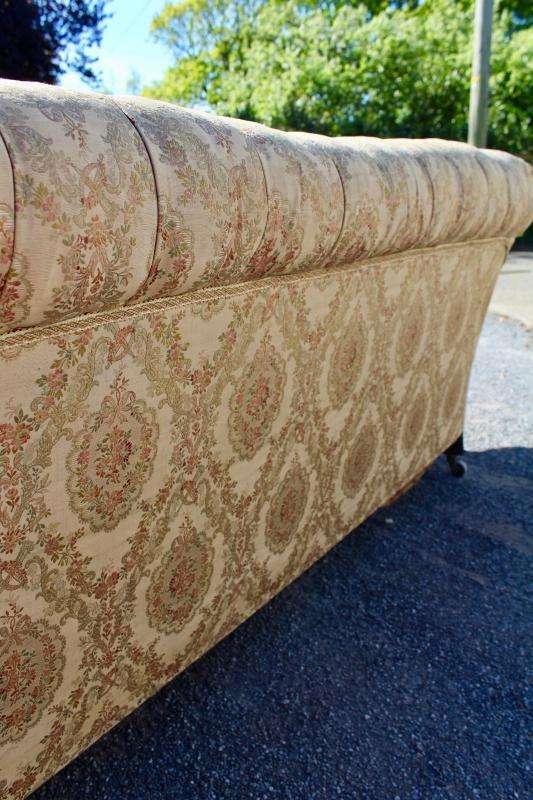 Lovely Worn Chesterfield Sofa