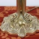 20th Century Art Nouveau Style Table Lamp in Golden Bronze
