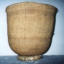 South American Storage Basket