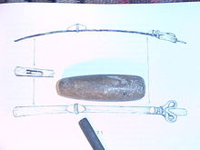 Anasazi Basket Maker I Atlatl Weight