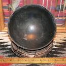 Anasazi Woodruf Smudged Pottery Bowl