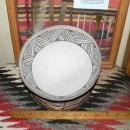 ANASAZI KIATUTHLANNA Black on White Bowl