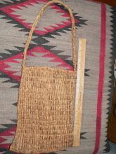 Paiute Cliff Rose Bark Knotted Gathering Bag Paiute Ute