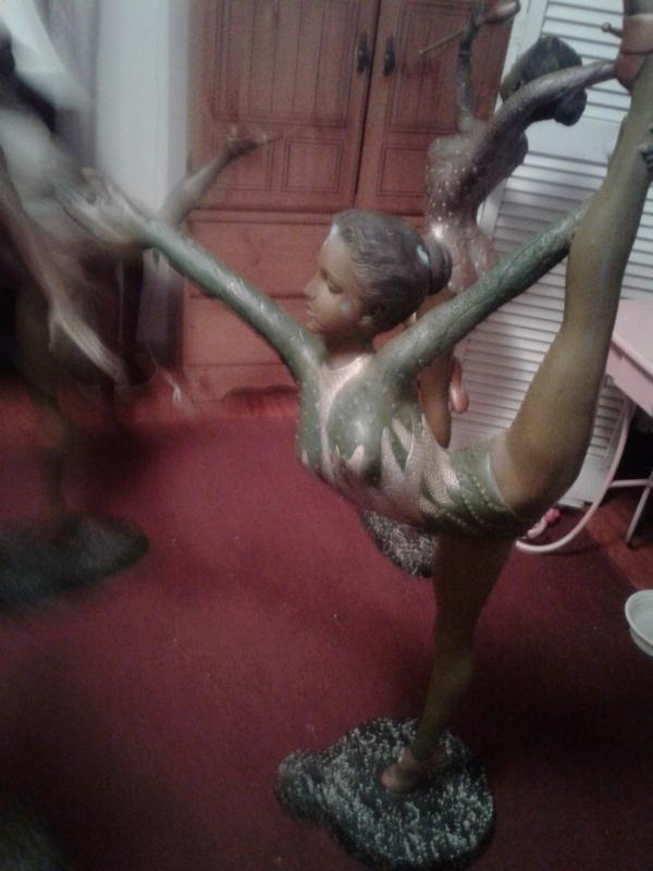 Bronze Workout Acrobatic Girls