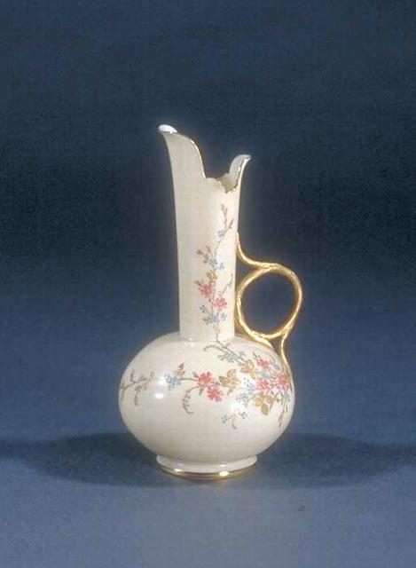 Vase, Willets Beleek Brown Mark
