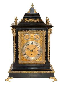 Clock, Bracket, Quater Chiming, English, c.1880-1900