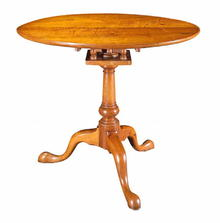 Table, Tilt Top,  Walnut, Delaware Valley, c.1760-1780