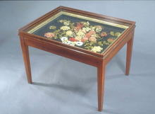 Table, Coffee, American, Yarnwork, 19th c.