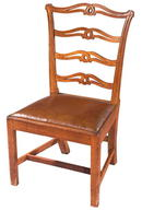 Chair, Side, Philadelphia, Mahogany c.1780-1800