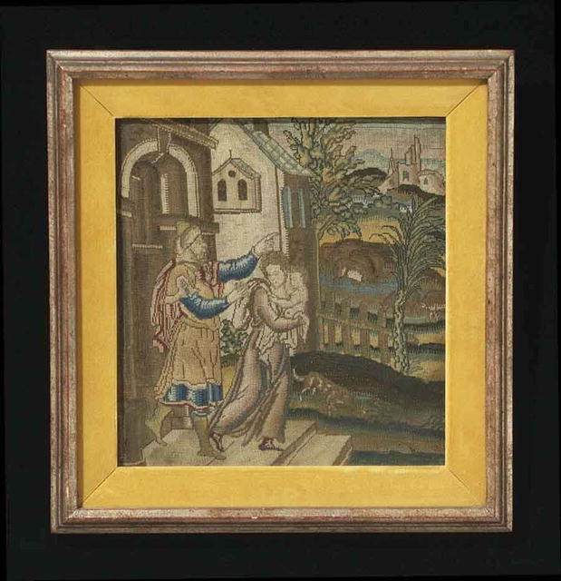 Needlework, Framed, 16th or 17th Century
