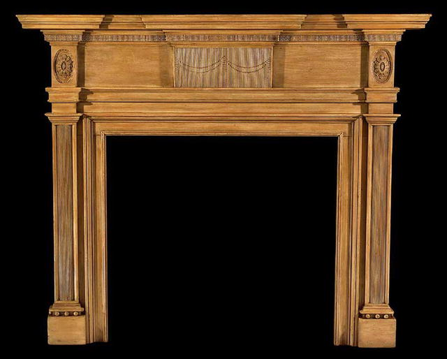 2002/941 Pittsburg Pennsylvania Composition Mantel c.1800