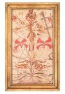 Fraktur, Pennsylvania Dutch, dated 1817