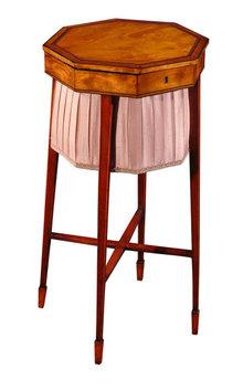 Table, Sewing, Mahogany, English c.1790