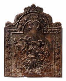 Fireback, 17th C. Dutch