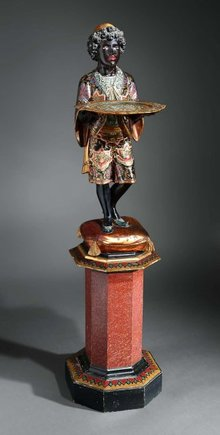 Statue, Blackamoor, Italian 19th C.