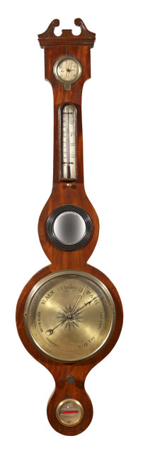 Barometer, English Banjo c.1810-1820