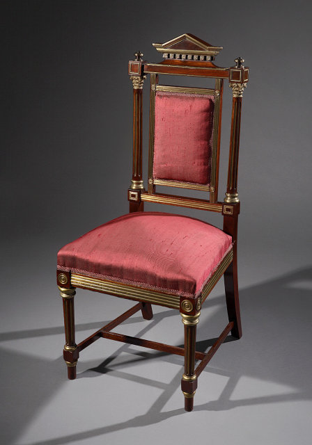 Chair, Side Russian, c.1880-1900