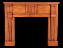 2003/974 Richmond Virginia Neoclassic Mantel c.1800-1815