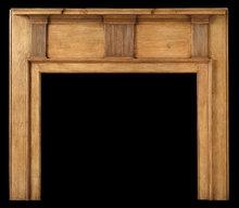 2005/1012 Delaware Valley Neoclassic Mantel c.1790-1810