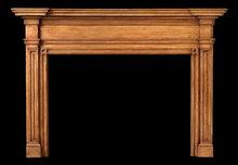 2005/1015 Philadelphia Neoclassic Mantel c.1810-1820