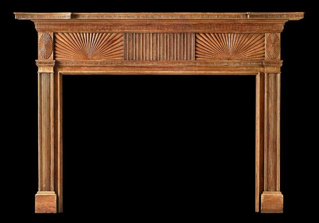 2005/1016 Georgetown Neoclassic Mantel c.1810