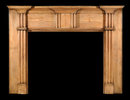 2005/1019 Northern Virgina Yellow Pine Mantel c.1820