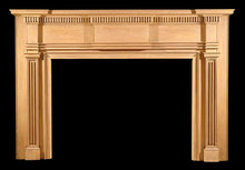 2005/1023 Philadelphia Area Mantel c.1810-1825